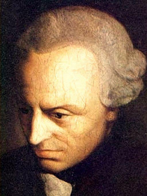 インマヌエル・カント(1724~1804)の肖像