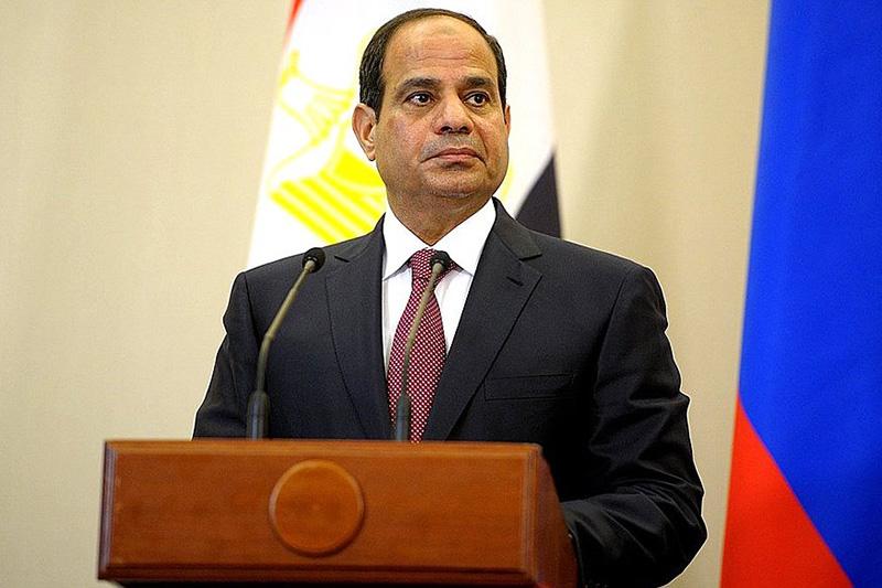 エジプトのアブデルファタハ・アル・シシ大統領(写真:ロシア大統領府)