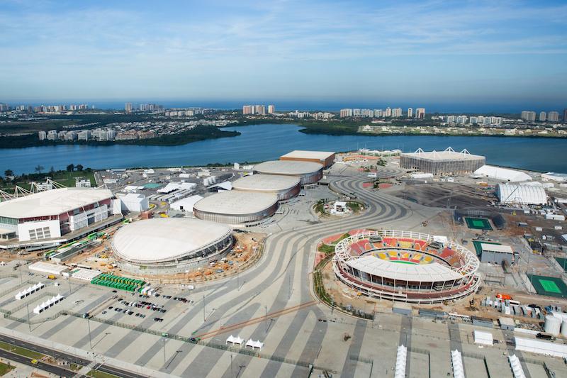 メーン会場となるリオ市西部バーラ地区の五輪公園(写真:André Motta/brasil2016.gov.br)