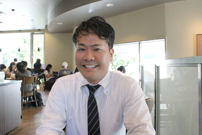 葬儀社というミニストリーで福音を伝えていきたいと話す株式会社 創世 ライフワークス社代表取締役の野田和裕さん