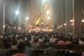被爆71年:広島原爆の日、カトリック平和記念聖堂で祈り 聖公会と合同の「平和行進」、レクイエムの演奏も