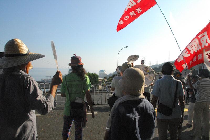 「天の声・地の声・人々の声を無視」伊方原発が再稼働 地元団体代表の信徒・牧師や住民・市民らは強く抗議