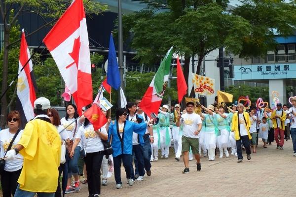 新しい夏祭りがフィリピンから日本に上陸 合言葉「JESUS REIGNS JAPAN」を7回叫び、イエスの統治を宣言!