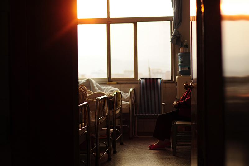 ある中国の病院の病室(写真:Jing)