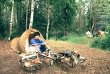 世界自転車旅行記(22)こぼれ話:おかわり用のご飯は洗面器で 1泊12円の宿 野宿で出合う絶景 木下滋雄