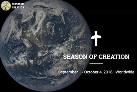 9月1日から10月4日まで「被造物の季節(Season of Creation)」運動を呼び掛ける画像(画像:アングリカン・コミュニオン・ニュース・サービス[ACNS])