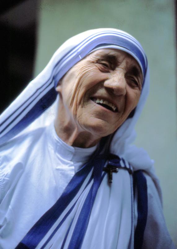 マザー・テレサ(1985年にローマで撮影されたもの。写真:Manfredo Ferrari)