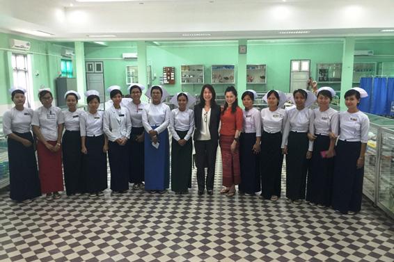聖路加国際大、ミャンマー・マンダレー看護大学との交流事業がJST「さくらサイエンスプラン」に採択