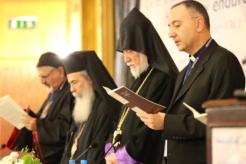 中東教会協議会、ヨルダンで総会初開催 テロ組織への武器販売廃止を訴え