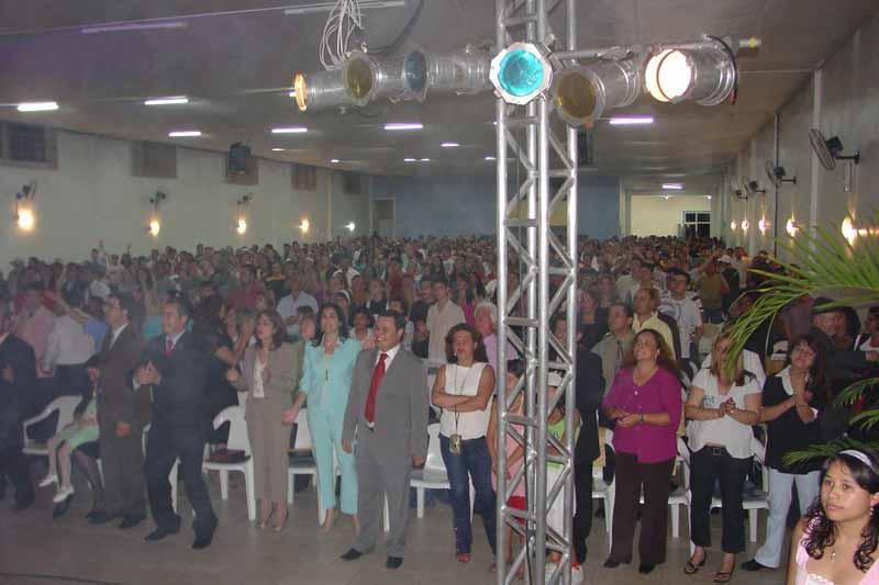サンパウロにあるペンテコステ派教会での礼拝の様子(写真:Fábio Félix、2007年に撮影)