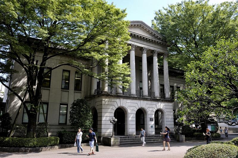 創立140年以上の伝統と歴史が息づく青山学院大学の青山キャンパス(写真:同大提供)