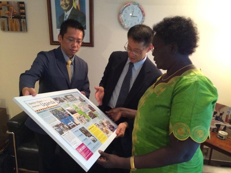 新生宣教団がマンガプロジェクト報告 ウガンダ駐日大使「アフリカ全域での宣教にとても有用」