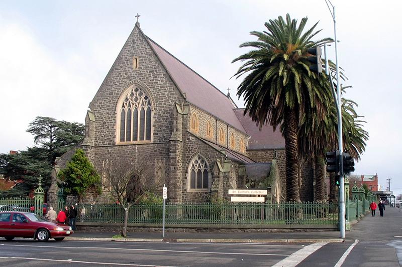 オーストラリア・ビクトリア州にあるバララット教区の聖パトリック大聖堂<br />