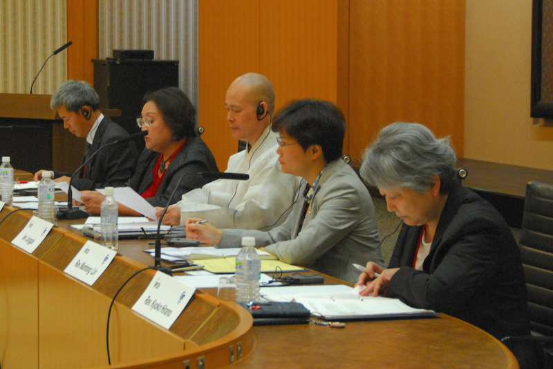「和解のためのプロセスとメカニズム」IPCRなどが国際セミナー(4)