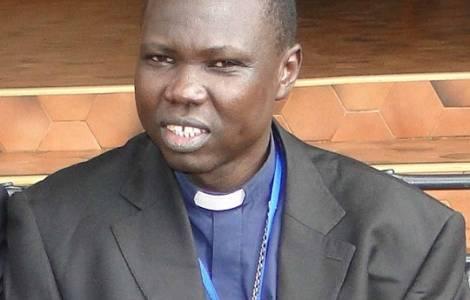 南スーダンの首都ジュバのサント・ラク補佐司教(写真:フィデス通信)