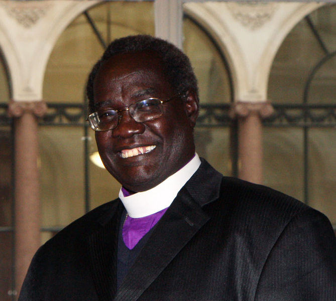 スーダンおよび南スーダン聖公会の指導者であるダニエル・デング・ブル大主教(写真:Foreign and Commonwealth Office)