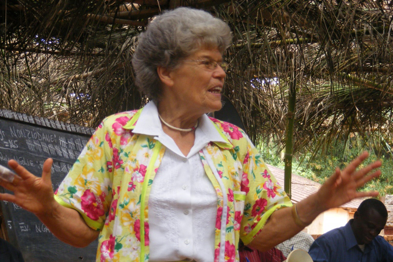 強盗に撃たれた77歳の女性宣教師、再びコンゴへ 「最後の宣教に」