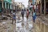ローマ教皇、ハイチのハリケーン被災者に10万ドル寄付