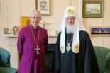 ウェルビー大主教とキリル総主教が会談 英ランべス宮殿で