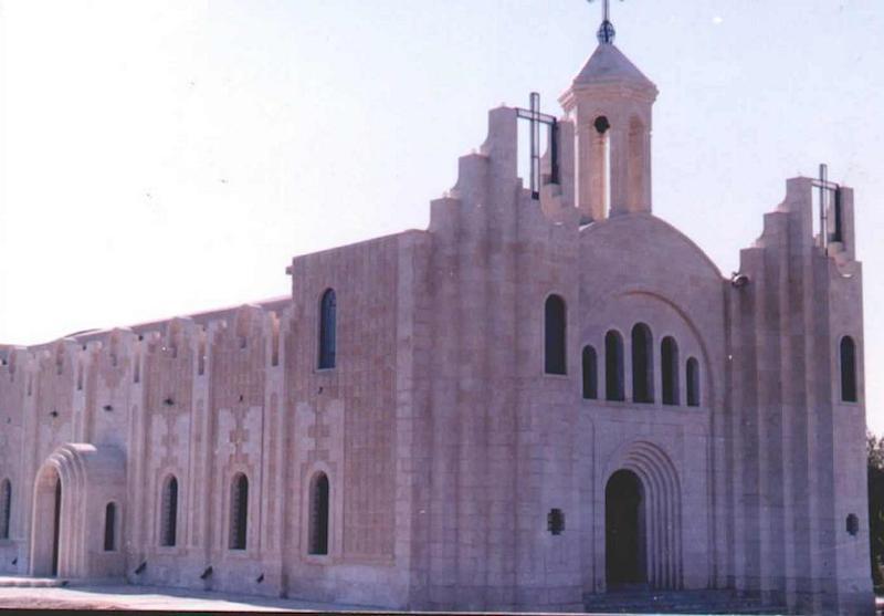 イラク北部のキリスト教徒の村・バルテラの聖ジョージ教会=2006年(写真:Chaldean)