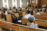 現代社会の「食の支援」を考える 教会でフォーラム開催