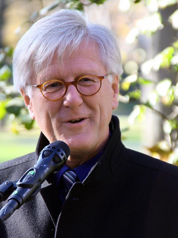 ドイツ福音主義教会(EKD)常議員会のハインリッヒ・ベドフォート・シュトローム議長(写真:Michael Lucan)