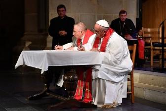 ローマ教皇・ルーテル世界連盟議長による共同声明全文(非公式訳)