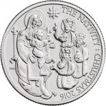 英国初のクリスマス記念硬貨、聖公会の主教が東方の3賢者をデザイン