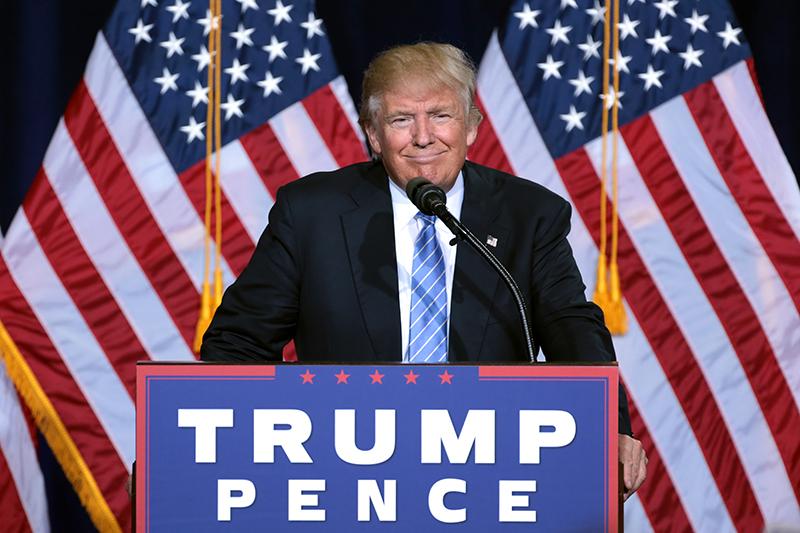 2016年の米大統領選で勝利した共和党候補のドナルド・トランプ氏=8月31日、米アリゾナ州で(写真:Gage Skidmore)