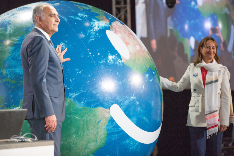 モロッコのマラケシュで開かれている国連気候変動枠組み条約第22回締約国会議(COP22)の開会式典=7日(写真:Unclimaitechange)