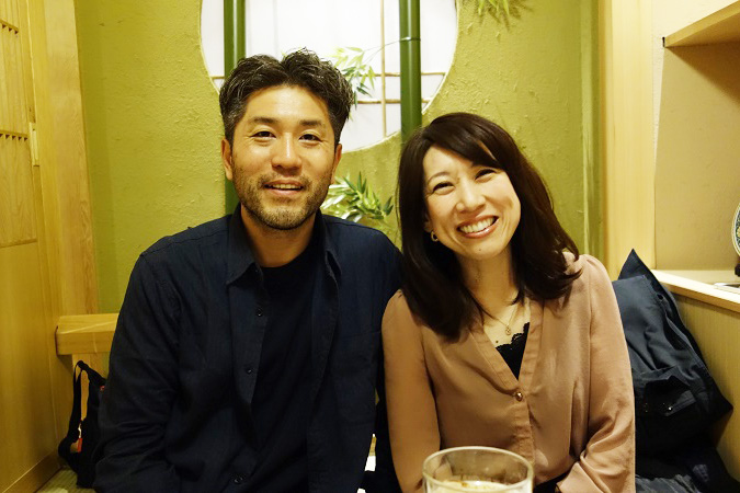 7月に結婚した慎征範伝道師夫妻