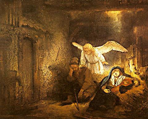 レンブラントの「ヨセフの夢」