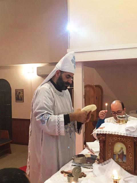 コプト正教会が大阪西成で炊き出しボランティア(3)京都のコプト教会で交流会2:共に祈る礼拝