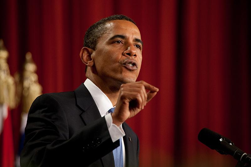 エジプトのカイロ大学で講演するバラク・オバマ米大統領=2009年6月4日(写真:ホワイトハウス)
