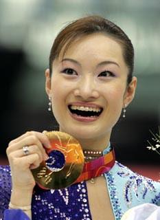 荒川静香さん=トリノ冬季オリンピックで