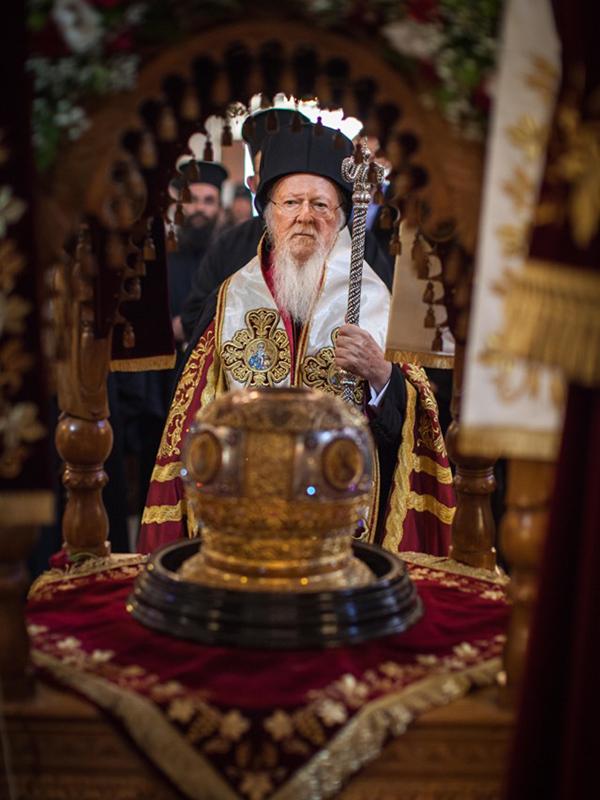 バルソロメオス全地総主教(写真:世界教会協議会=WCC / Sean Hawkey)