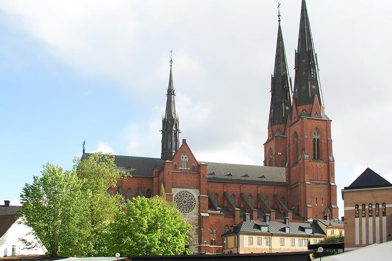 スウェーデン国教会のウプサラ大聖堂。同教会のトップであるウプサラ大監督座が置かれている。(写真:Hakan Svensson)<br />