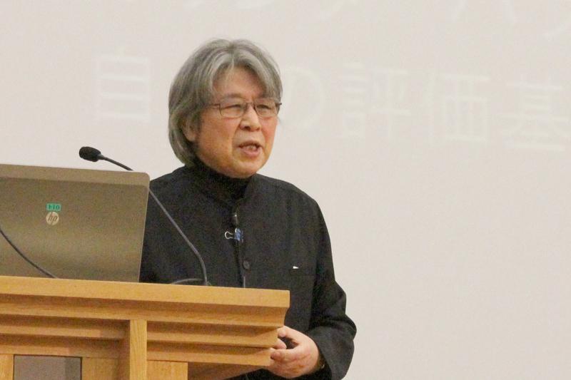 村上陽一郎氏が語る「グローバル化時代の教養とは何か」 聖学院大で特別講演会