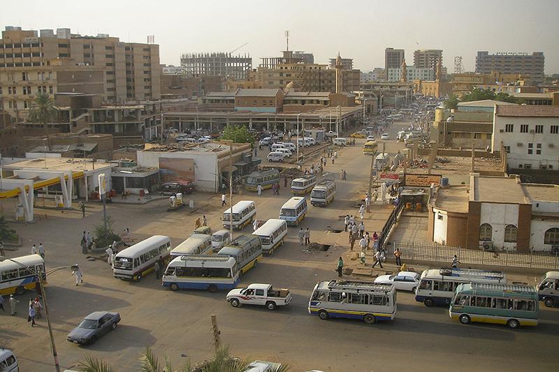 スーダンの首都ハルツームの様子=2012年6月26日(写真:New Zealand Defence Force)
