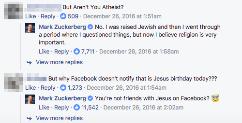 脱無神論宣言のフェイスブックCEO、牧師らと面会 キリスト教に接近?