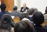 「寅さんは愛に根ざして真理を語る」 横浜YWCAで関田寛雄牧師が講演