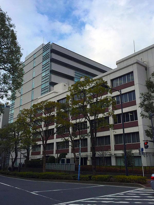 判決公判が行われた千葉地方裁判所=27日、千葉市で