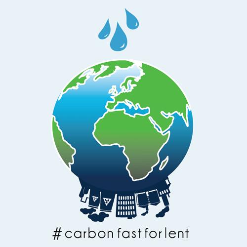 レント期間中の「炭素断食(carbon fast)」を呼び掛けるイメージ(画像:ACEN)<br />