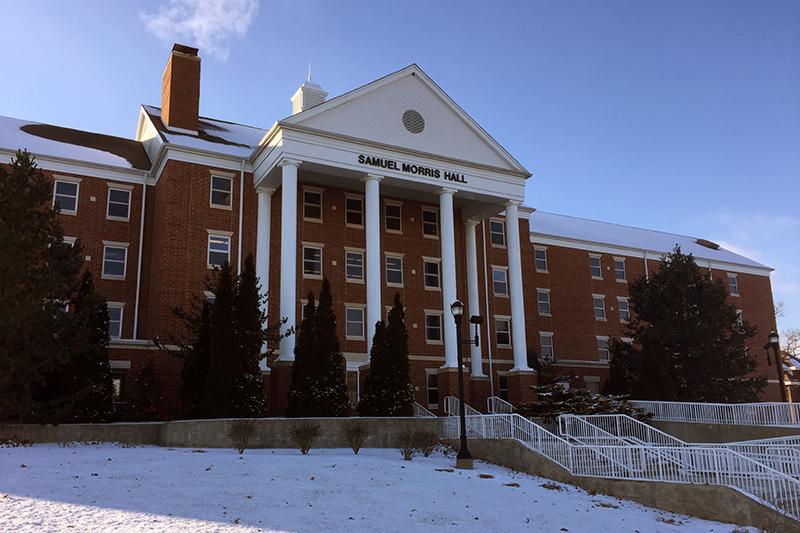 テイラー大学の校舎(写真:日本聖書協会提供)