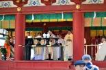 鶴岡八幡宮に響く聖書と祈り 鎌倉の3宗教合同東日本大震災追悼・復興祈願祭