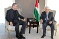 WCCのトヴェイト総幹事、パレスチナのアッバス議長と会談
