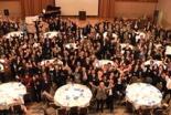 今年の開催で第8回目となった国家晩餐祈祷会には、教職者ら60人を含む220人が参加し、日本、アジア、世界のために心を一つにして祈りを捧げた=21日、東京・新宿の京王プラザホテルで