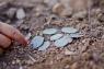 エルサレム近郊で1400年前の青銅貨発見 迫害逃れたキリスト教徒の遺物か