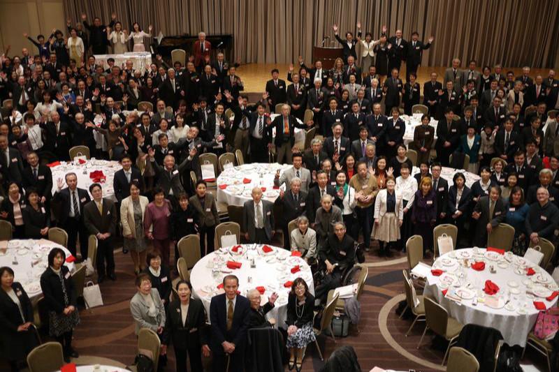「神様、罪人のわたしを憐れんでください」 自民党の石破茂元幹事長があいさつ 第17回国家晩餐祈祷会(1)
