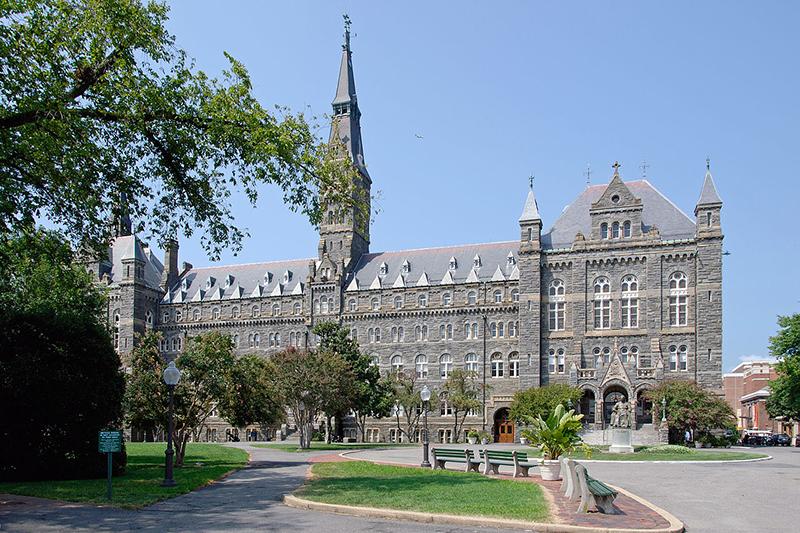 ジョージタウン大学(写真:Flapane)